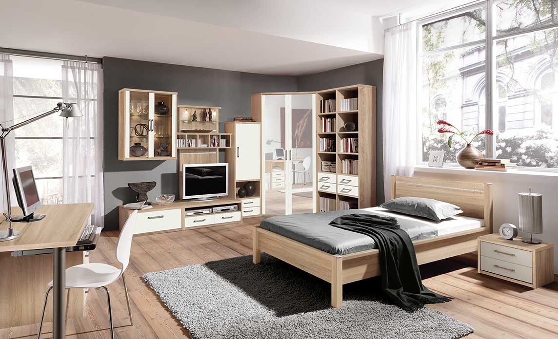jugendzimmer m belhaus fr hling. Black Bedroom Furniture Sets. Home Design Ideas